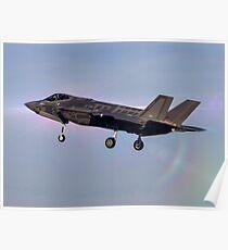 Israeli Air Force Lockheed Martin F-35 (Adir)  Poster