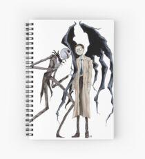 Jack and Castiel Spiral Notebook