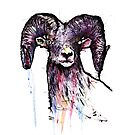 Zombie Goat by Alberto Marinelli
