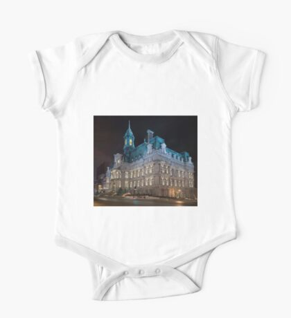 Montreal City Hall One Piece - Short Sleeve