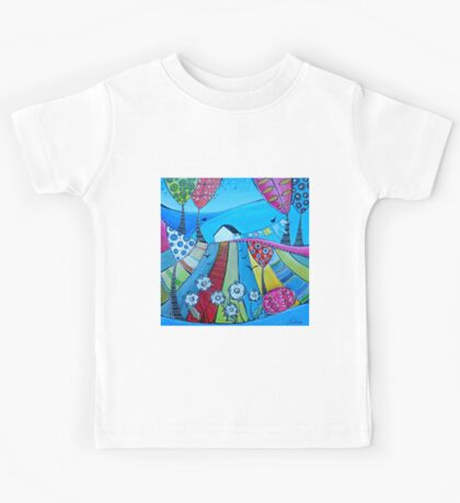 Little house on the hill Kids Tee