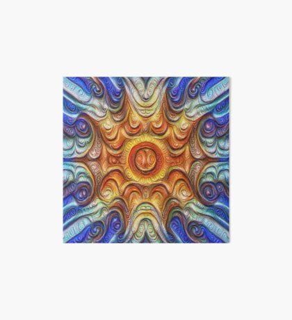 Frozen Sun #DeepDream #Art Art Board Print
