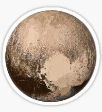 Pluto Painted Sticker
