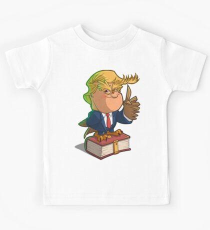 d-OWL-nald Trump inauguracion Kids Tee