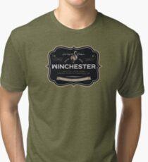 Winchester, Cold Pint, Wait Tri-blend T-Shirt
