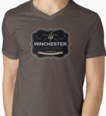 Winchester, Cold Pint, Wait Men's V-Neck T-Shirt
