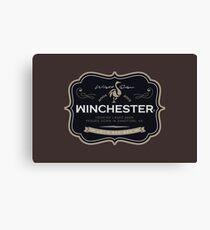 Winchester, Cold Pint, Wait Canvas Print