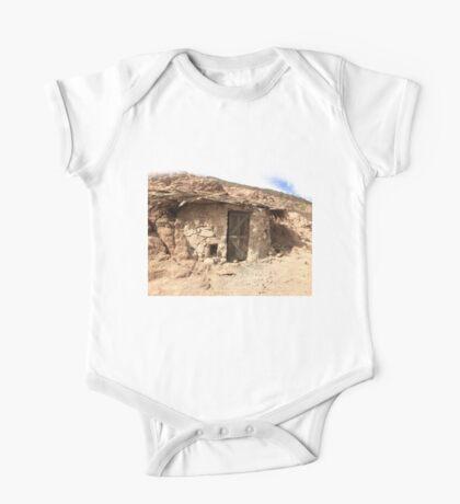 Bedouin village. Sinai Mountains. Sands. Egypt One Piece - Short Sleeve