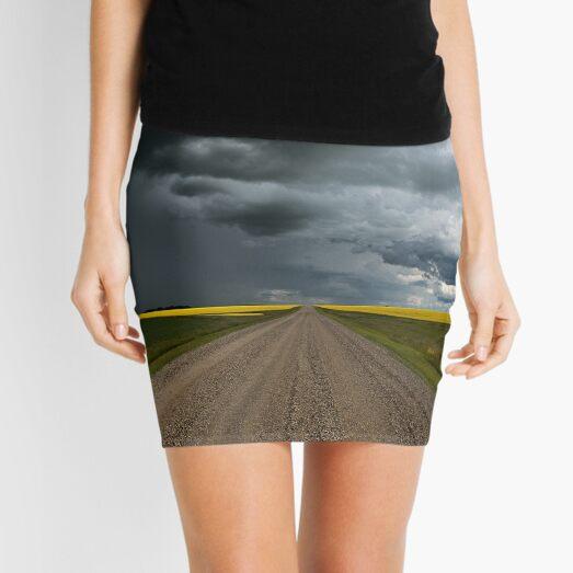 Prairie Summer Road Mini Skirt