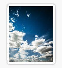 blue sky Sticker