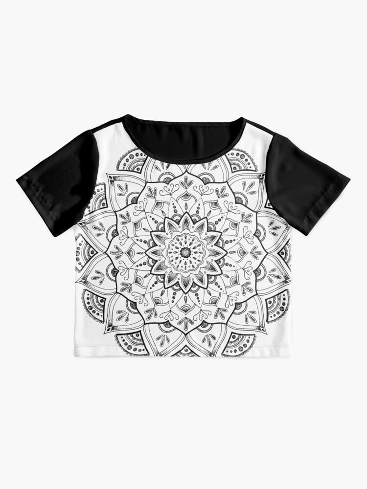 Alternative Ansicht von Friedliche Mandala Chiffon Top