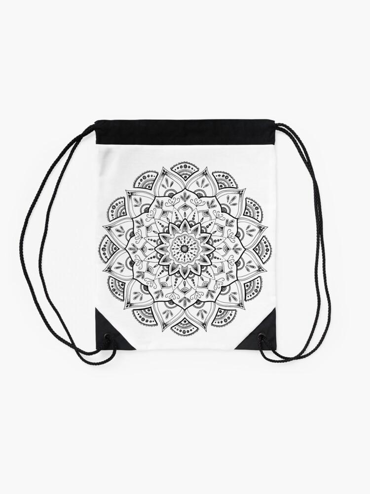 Alternative Ansicht von Friedliche Mandala Turnbeutel