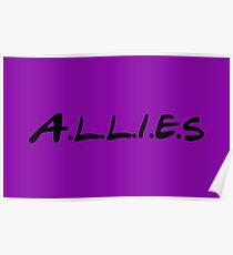 Allies - Friends Parody Poster