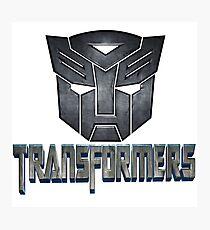 transformers Photographic Print