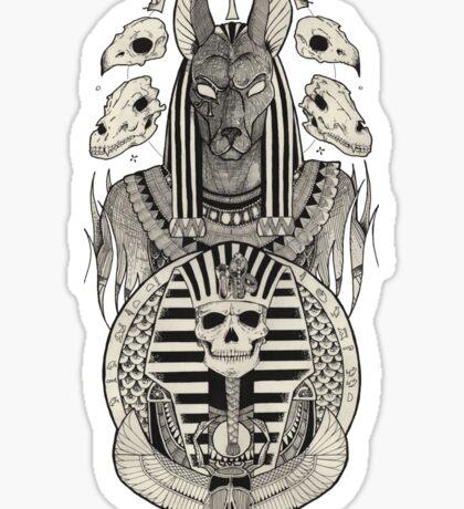 Anubis. Sticker