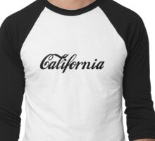 California Collection Men's Baseball ¾ T-Shirt