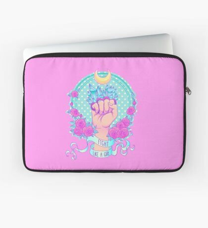 Fight Like A Girl Housse de laptop