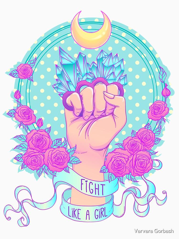 Fight Like A Girl by varka