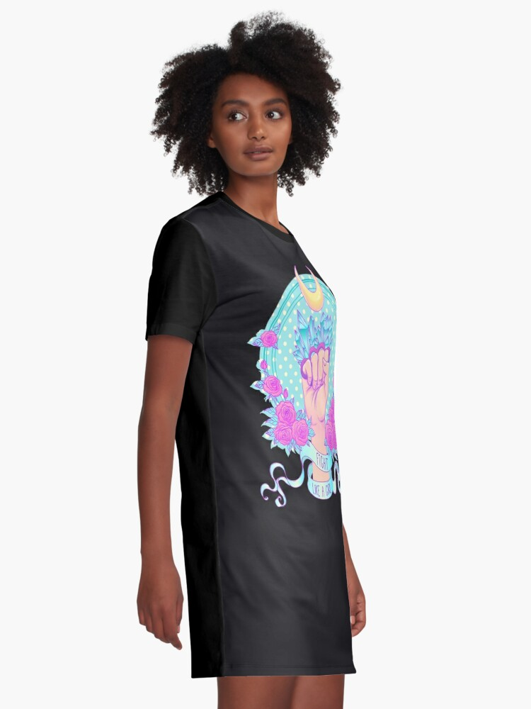Alternate view of Fight Like A Girl Graphic T-Shirt Dress