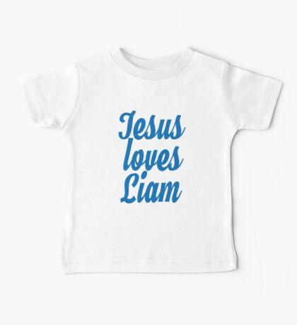Jesus loves Liam Baby Tee
