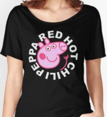 Red Hot Chili Peppa Women's Relaxed Fit T-Shirt