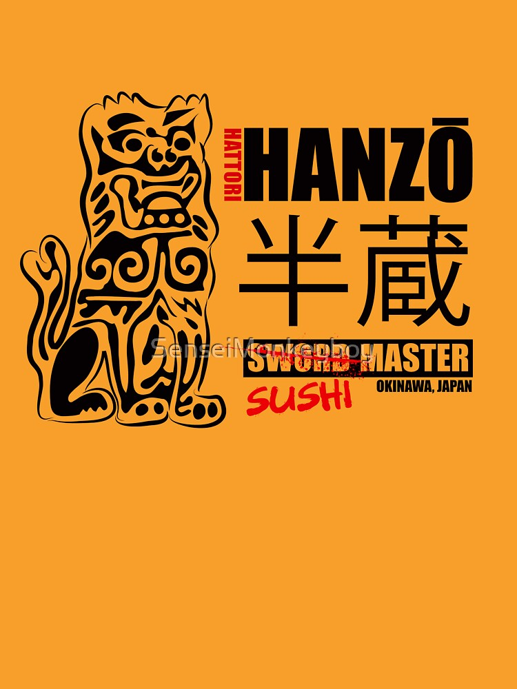 Kill Bill Hattori Hanz Sword Master | Unisex T-Shirt