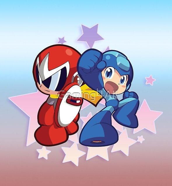 Rockman & Protoman   Please Like and Share :) by Gaming4All