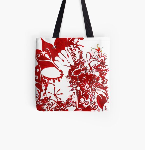This is a red dream All Over Print Tote Bag