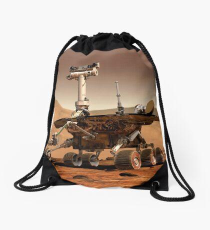 Künstlerische Wiedergabe von Mars Rover. Turnbeutel