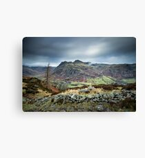 Langdale Pikes Canvas Print