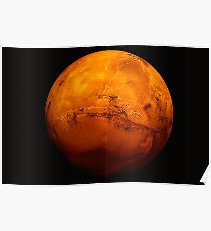 Planet Mars Poster