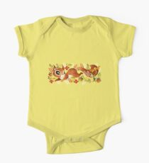 Playful Squirrel One Piece - Short Sleeve