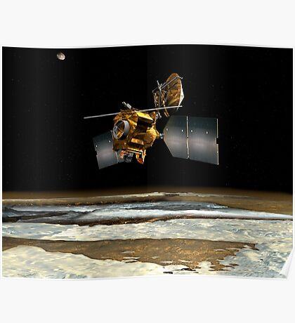 Mars Aufklärer Orbiter Poster