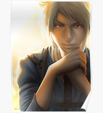 Wit • Original character Digital Painting Poster