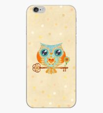 Owl's Summer Love Letters iPhone Case