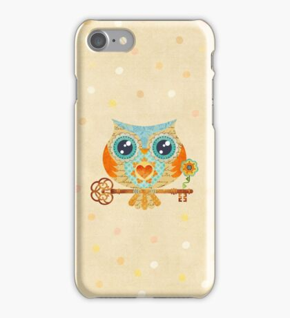 Owl's Summer Love Letters iPhone Case/Skin