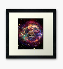 Cosmic Burger of DOOM. Framed Print