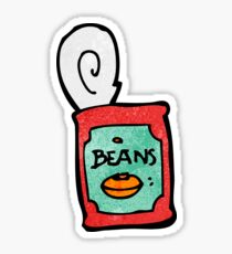 canned food cartoon Sticker