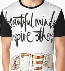 Beautiful Minds Inspire Others Graphic T-Shirt