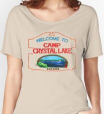 crystal lake Women's Relaxed Fit T-Shirt