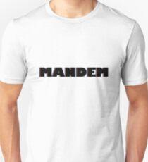 Mandem - British Slang Design Unisex T-Shirt