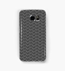 Playstation Buttons - White on Black Samsung Galaxy Case/Skin