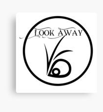 Look away Canvas Print
