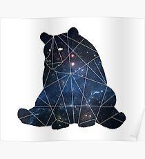 Bear-Universe geometric Poster