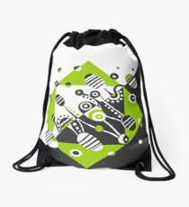 MICROGRAVITY - GRAPHITE & LIME Drawstring Bag