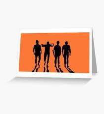 Clockwork Orange Greeting Card
