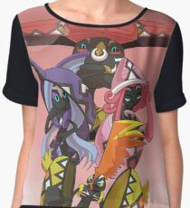 Tapus Pokemon Chiffon Top