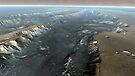 Valles Marineris, der Grand Canyon des Mars. von StocktrekImages