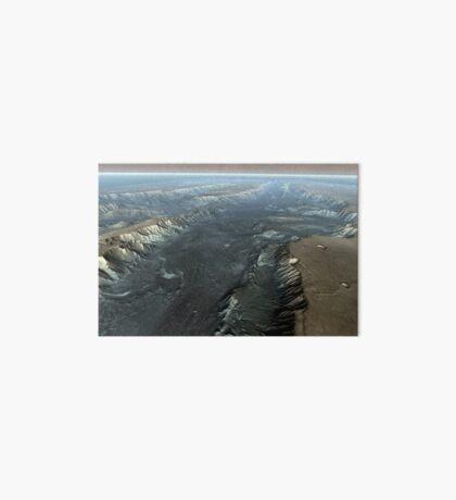 Valles Marineris, der Grand Canyon des Mars. Galeriedruck