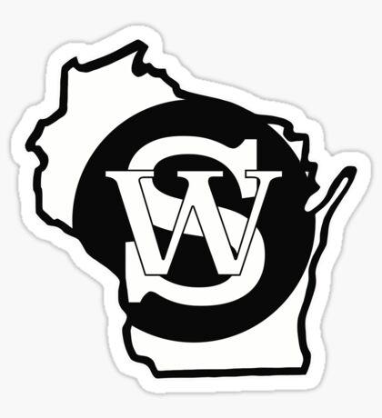 Wisconsin Skinny State Pride Sticker
